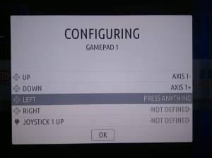 RecalBox Configure Controller