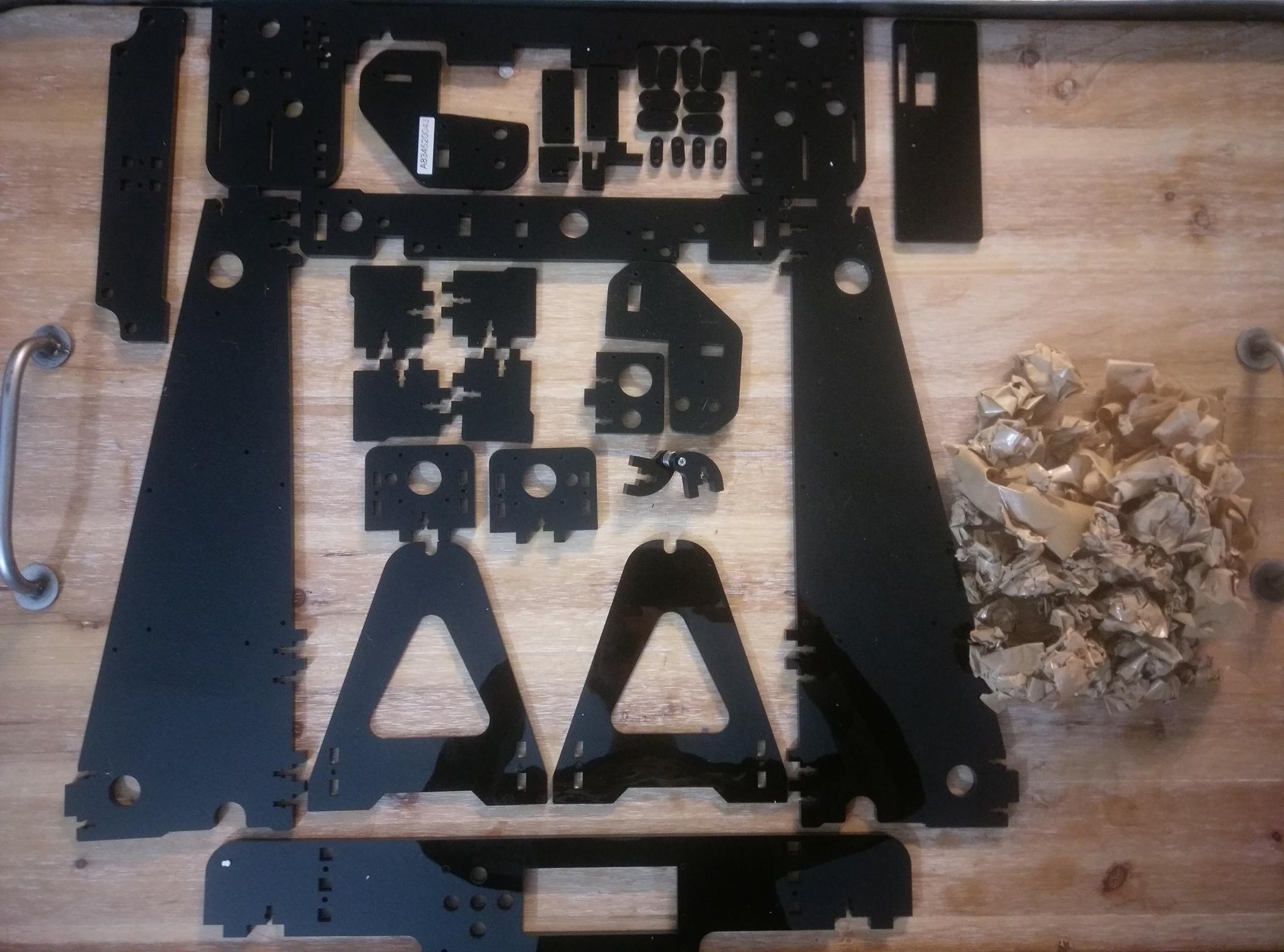 Anet A8 3D Printer Frame