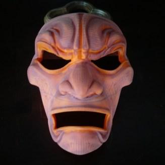 3D Printed Mask Bondo Sanded