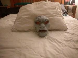 3D Printed Mask Sanded Primer