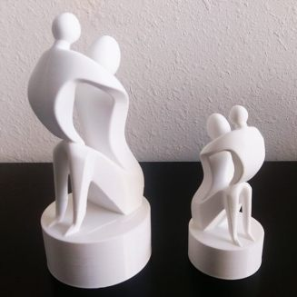 3D Printing Mother's Day Statues for Money