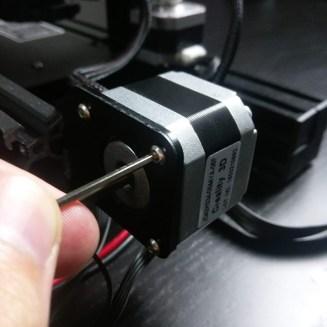 Ender 3 Y Axis Motor Screws