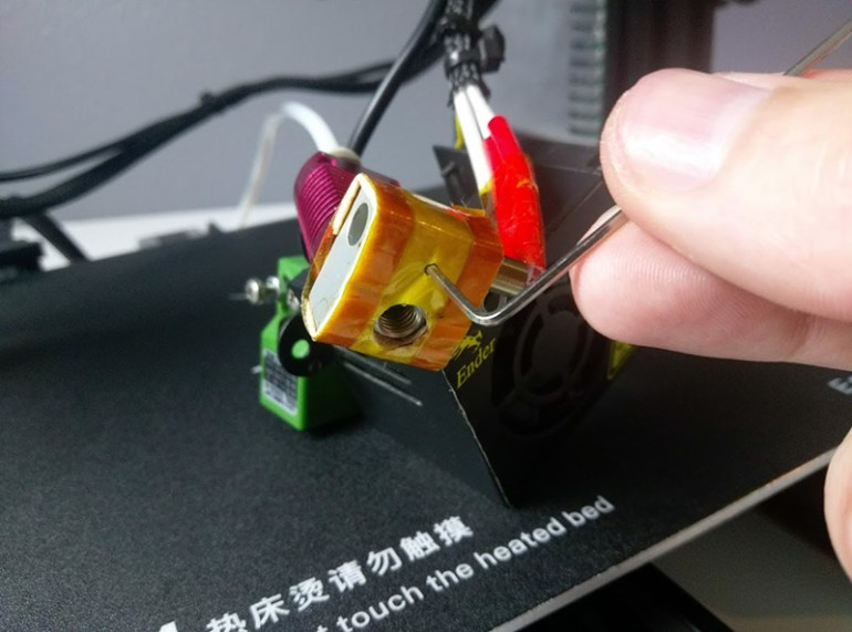 Ender 3 Hotend Heater Block Grub Screw