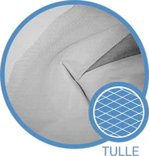 Tulle Fabric Material