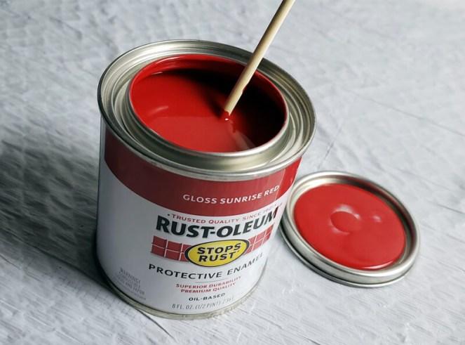 Flock Adhesive Rustoleum Enamel