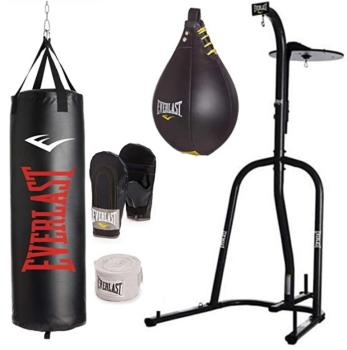 Best Value Everlast Dual Station Heavy Bag Stand Bundle Review