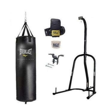 Everlast single station punching bag kit