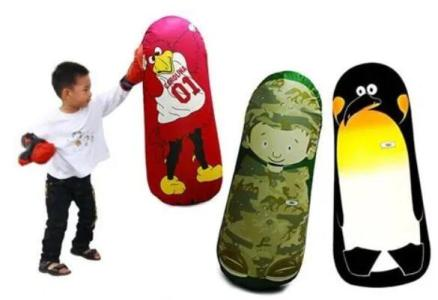 Inflatable Bop Bag Kids Toy Review