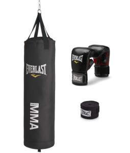 Everlast 70 pound punching bag kit for MMA