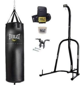 Everlast mma heavy bag for indoor gym and outdoor backyard