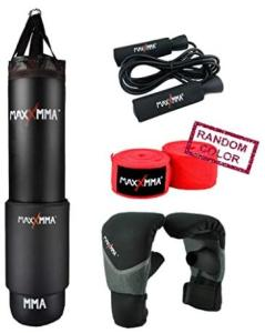 5 ft punching bag kit with adjustable weight
