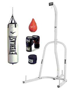 Everlast Single Station home gym heavy bag and stand review