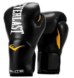 Everlast synthetic leather punching bag gloves