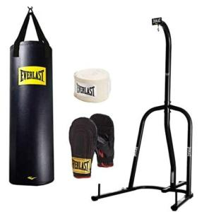 Everlast Single-station Heavy Bag and Stool for Professional Boxer