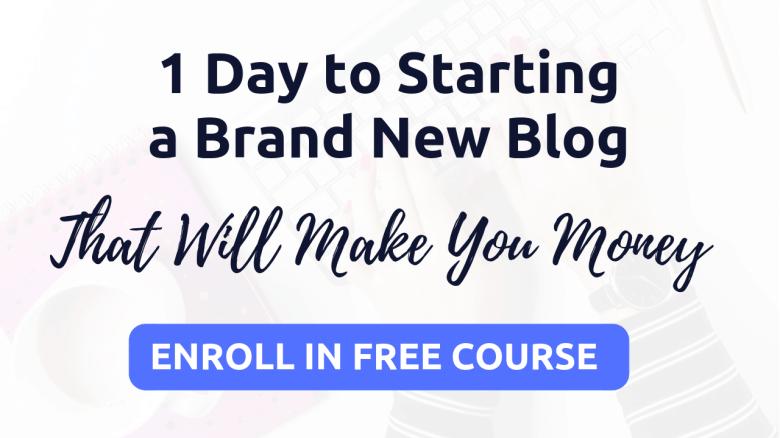 come iniziare un blog in 1 giorno - corso gratuito
