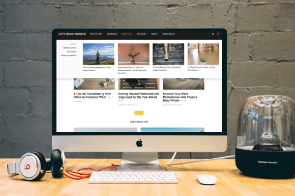 The New Premium WP Theme I Got for LRS, Its Features, and How It Improved Site Speed