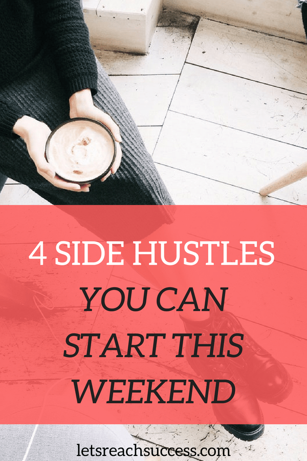 A side hustle is any project you start from scratch that has the potential to make extra cash. Here are 4 great ideas for side hustles that you can start from home to earn quick cash:
