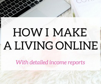 homepage make a living online