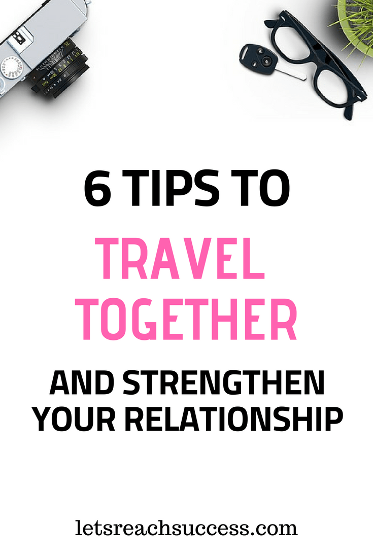 One of the best ways to strengthen a marriage is to travel together. Here are some tips for traveling and backpacking as a couple. #traveltogether #backpacking #travelcouple #travelhacks #marriage