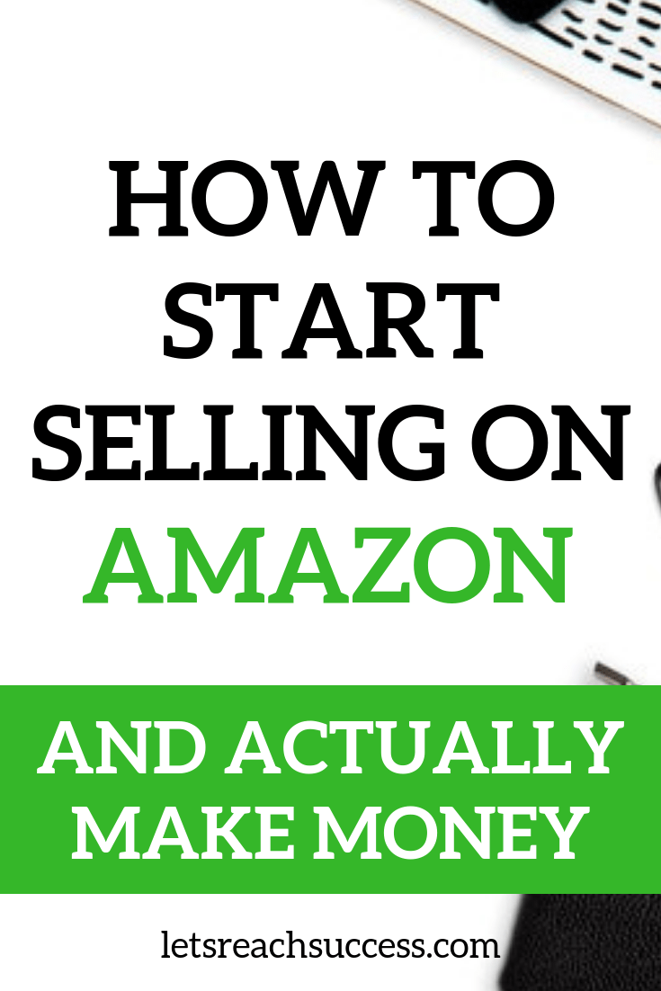 Wondering how to start selling on Amazon? Here are some tips to get a small online retail business started today: #amazon #makemoneyonline #amazonbusiness