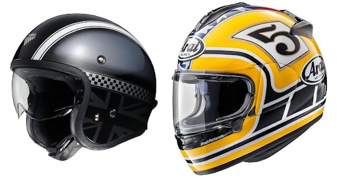 histoire casques moto