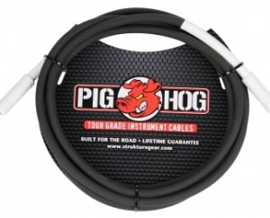 Pig Hog 10ft x 8mm Tour Grade Instrument Cable