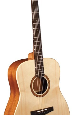 Morgan Monroe® Solid Spruce Top Acoustic Guitar, Natural