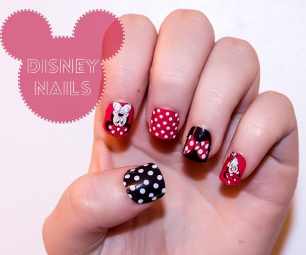 Images Of Minnie Mouse Nail Art | Wallsmiga.co