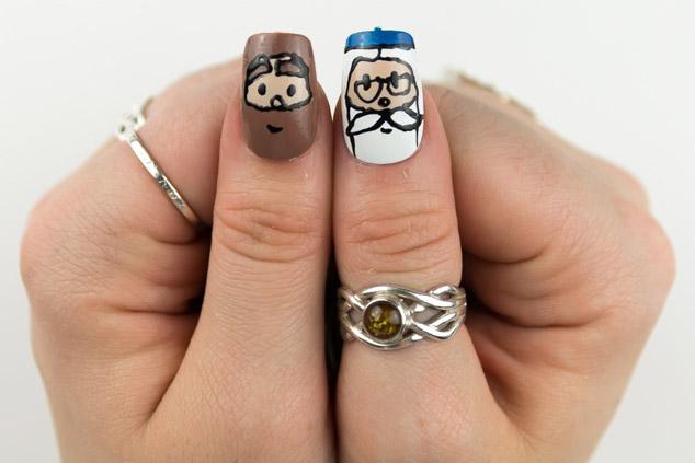 Nail Polish Designs Harry Potter