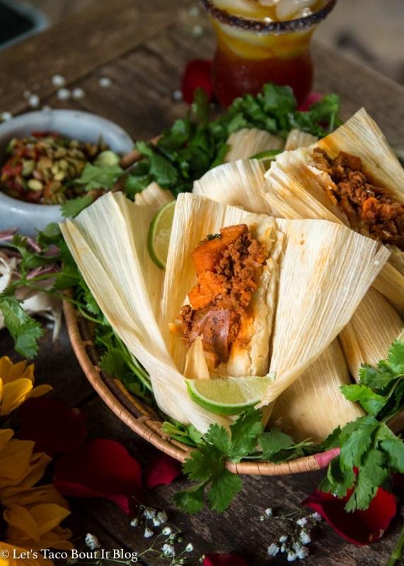 Pumpkin & Chorizo Tamales