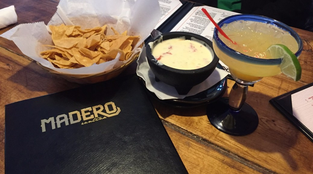 Chips and Margarita at Madero Cantina