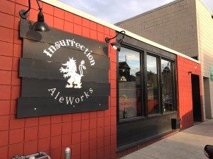 Exterior of Insurrection AleWorks