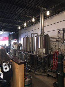 Brewing on site at Insurrection AleWorks