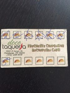 taco punch card