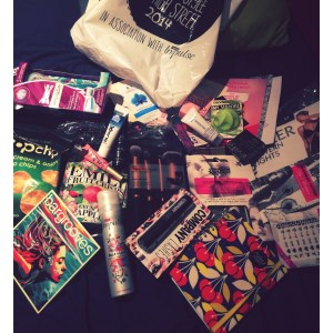 My Goodie bag!