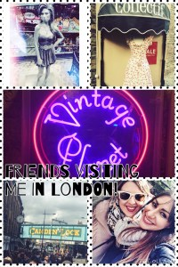 Friends visiting me in London!