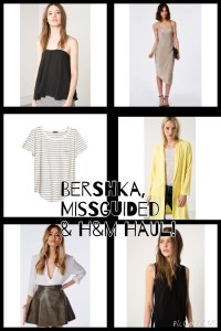 Bershka, Missguided & H&M Haul!
