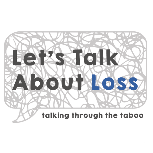 Let's Talk About Loss logo and tagline