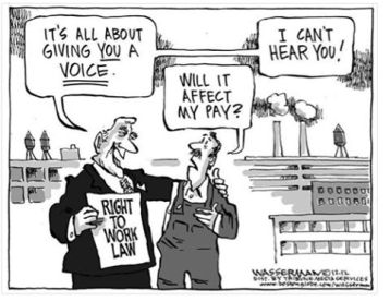 right-to-work ALEC cartoon