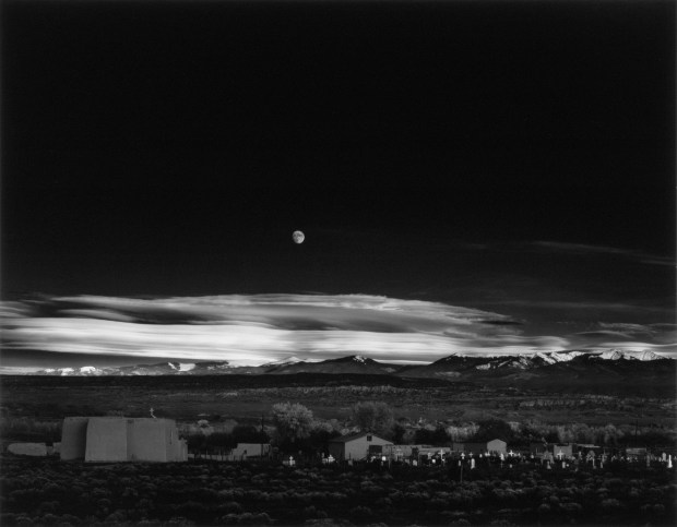 Moonrise Over Hernandez, New Mexico, 1941
