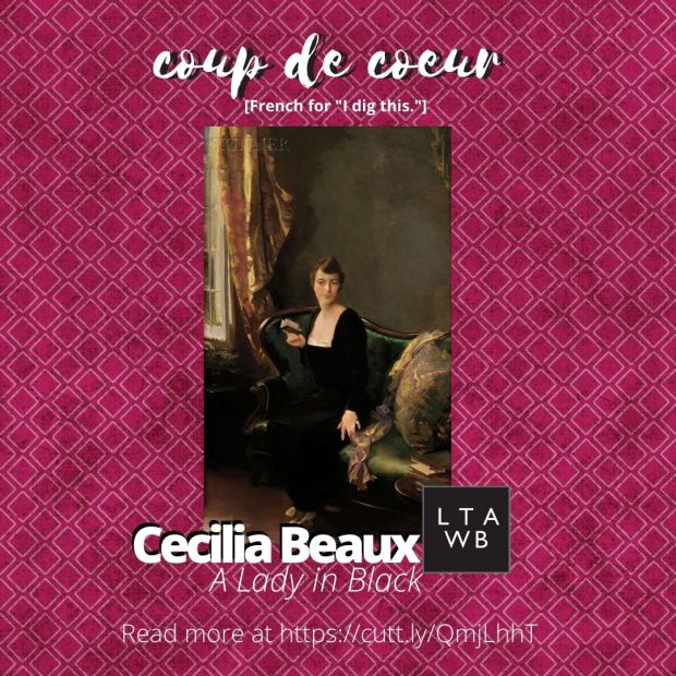 Cecelia Beaux, Lady in Black
