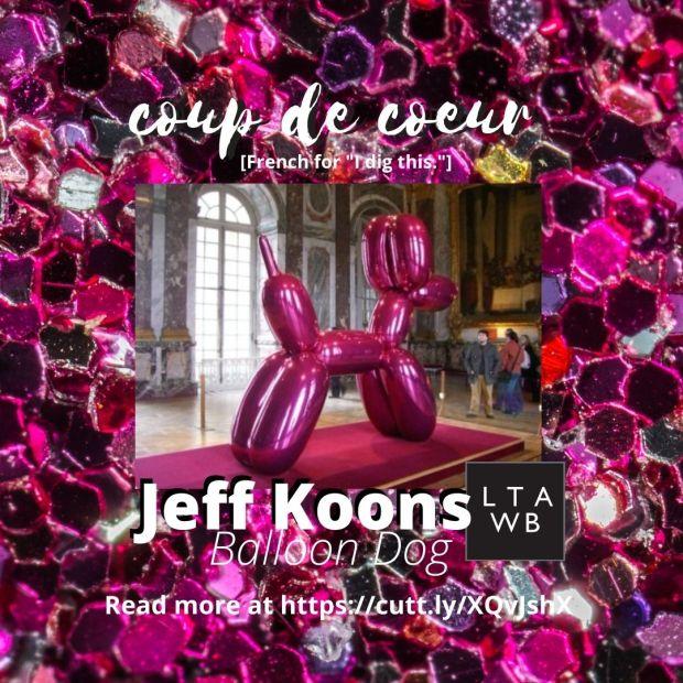 Jeff Koons art