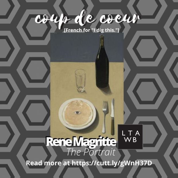 Rene Magritte, the portrait