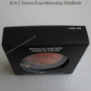 M·A·C Stereo Rose Mineralize Skinfinish