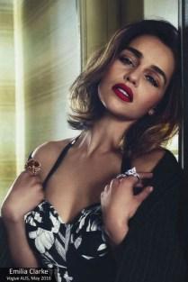 Emilia Clarke (Vogue magazine)