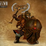 Might & Magic Heroes VII - Trial by Fire - Shield Guard Artwork