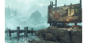 Fallout4: Far Harbor - Welcome Sign