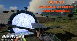 Let's Play Modded ARK: Survival Evolved : S1E13 – Stargate Atlantis Mod