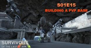 Let's Play Modded ARK: Survival Evolved – Modded – S1E15 – Building a PvP Base