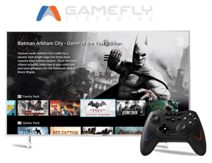 GameFly streaming ready for Phillips TV